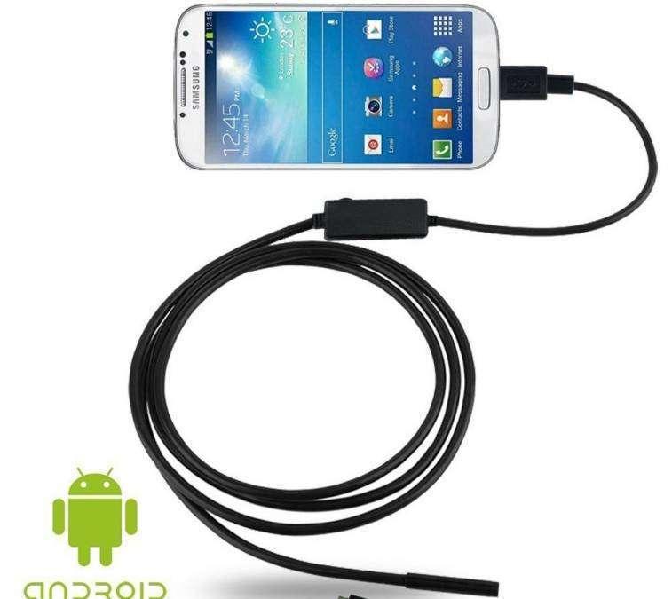 Endoscopio digital mini cámara usb para celular - 2