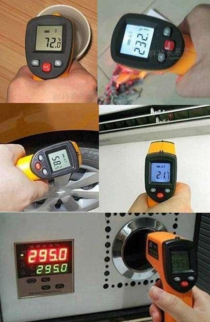 Termómetro Infrarrojo digital -50~360 grados - 3
