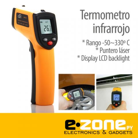 Termometro Infrarrojo digital -50~330 grados