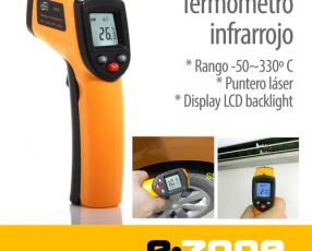 Termometro Infrarrojo digital -50~360 grados