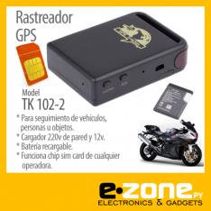 GPS de rastreo Tk102. -Funciona con SIM card de cualquier operadora