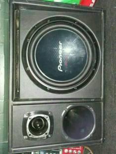 Caja con amplificador