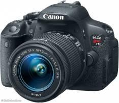 Cámara Canon T5i con lente kit 18-55 y adicional lente 50mm