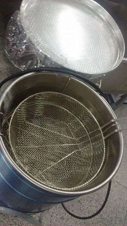 Fritadora industrial de 30 litros