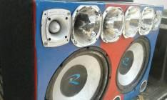 Caja de música con amplificador de 5000 watt