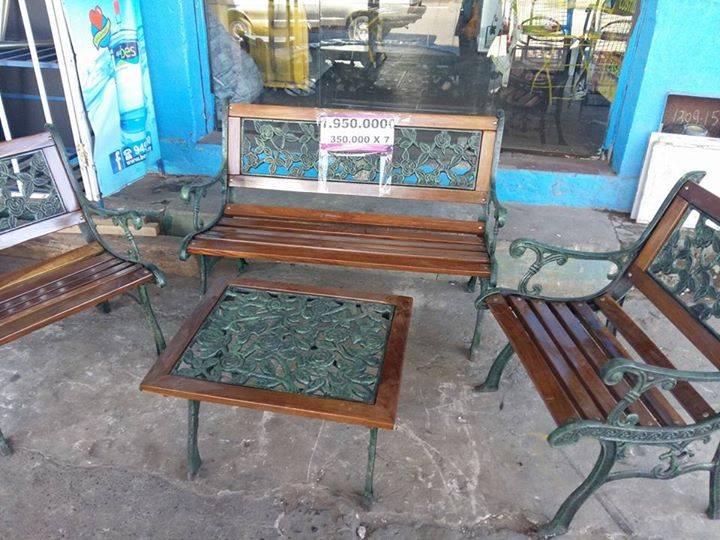 Juegos de sillones de hierro para jard n yenny leticia portillo flores for Juegos de jardin de hierro