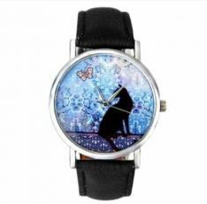 Reloj Vintage Gatito