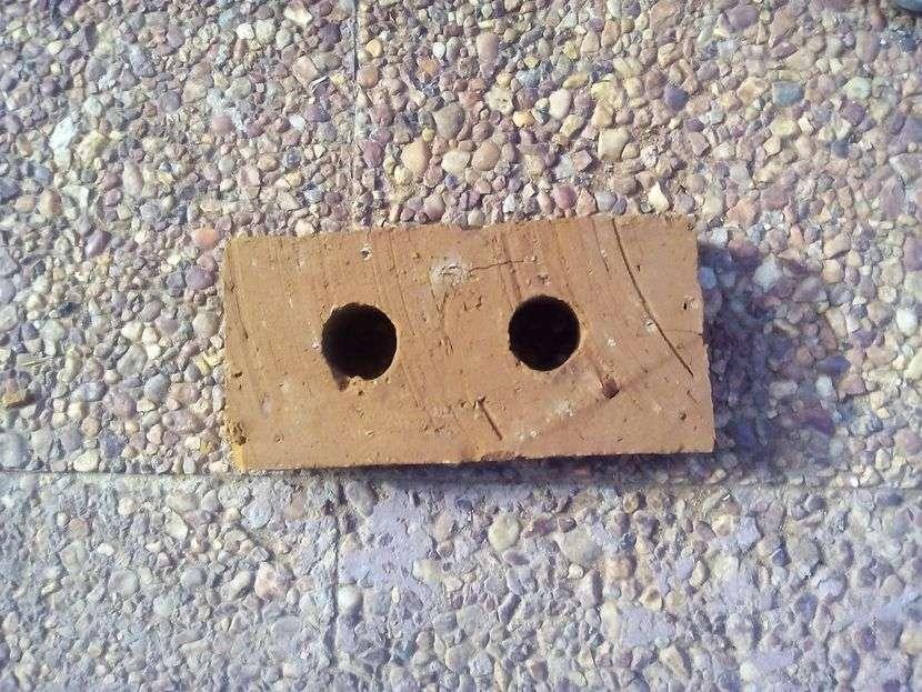 Ladrillos de 2 agujeros - 1