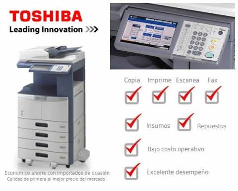 Fotocopiadora Digital Láser Toshiba