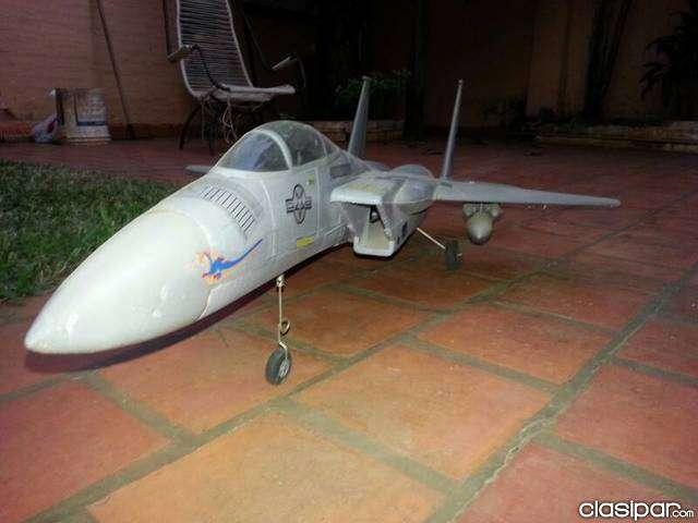 Jet F15 a escala a control remoto - 4
