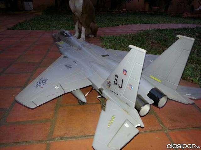 Jet F15 a escala a control remoto - 1