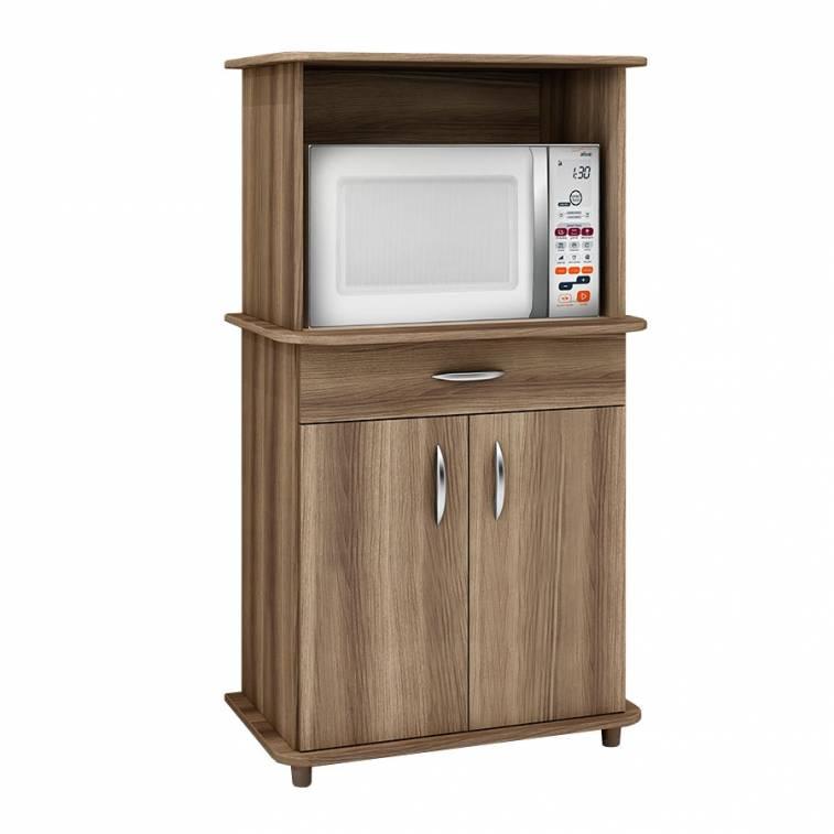 Mueble de cocina para horno y microondas addy for Muebles para cocina df
