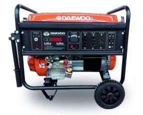 Generador de Corriente Daewoo GD6000E 5KVA Naftero
