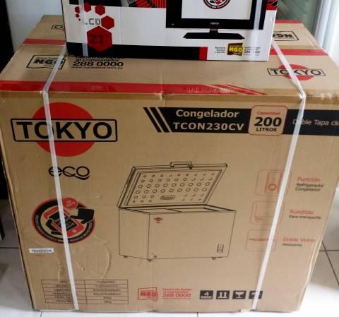 Congelador Freezer Tokyo Eco 200 litros