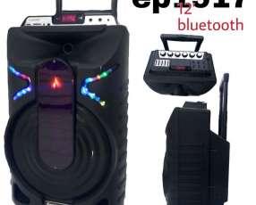 Parlante Ecopower EP-1917 12 pulgadas 400W Bluetooth