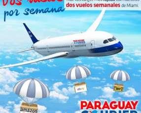 Servicio de flete de Miami Paraguay