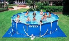 Piscinas Intex de 12.422 litros