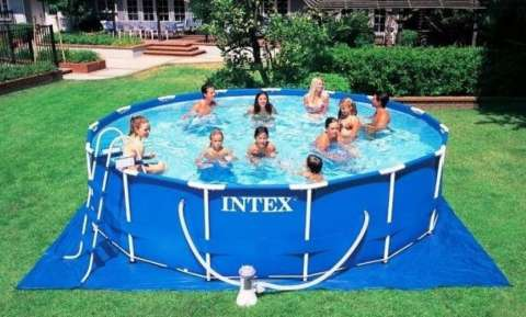 Piscinas Intex de 12.422 litros