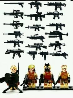 Lego equipo de asalto tormenta del desierto