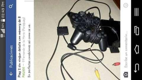 PlayStation 2 con memory de 8