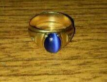 Cadena de oro pulsera de oro y anillo