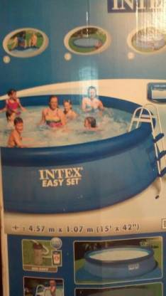 Pileta Intex de 12.000 lts