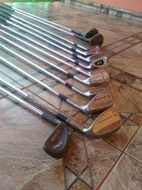 Palos de golf 12 unidades