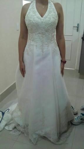 Vestido de novia o colación