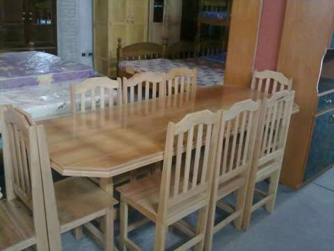 Comedor de 8 sillas