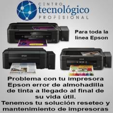 Reset Epson todos los modelos y mantenimientos