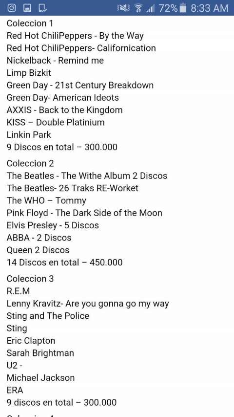 Discos rock inglés originales