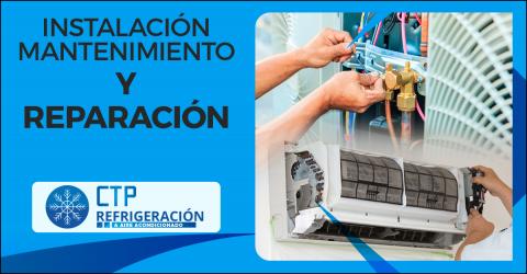 Reparación instalación mantenimiento de aire de ventana y split