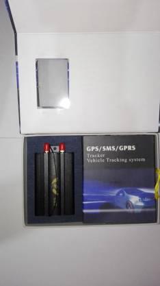 Equipo de alarma con rastreo GPS