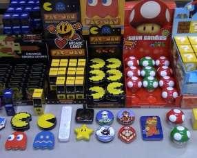 Golosinas Importadas Pacman, Nintendo, Mario Bros y otros