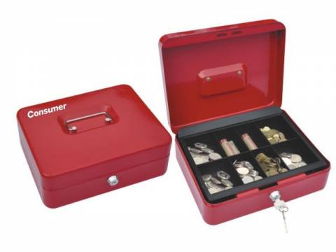 Caja de dinero Consumer 25x18x9 cm