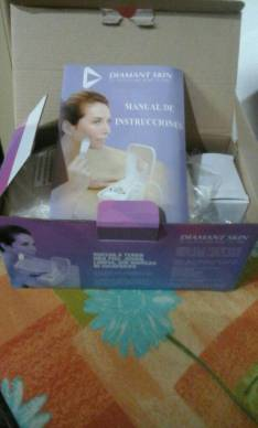 Exfoliante facial punta de diamantes