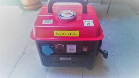 Generador de Corriente Goldex 950GFDC 800W 220V Naftero