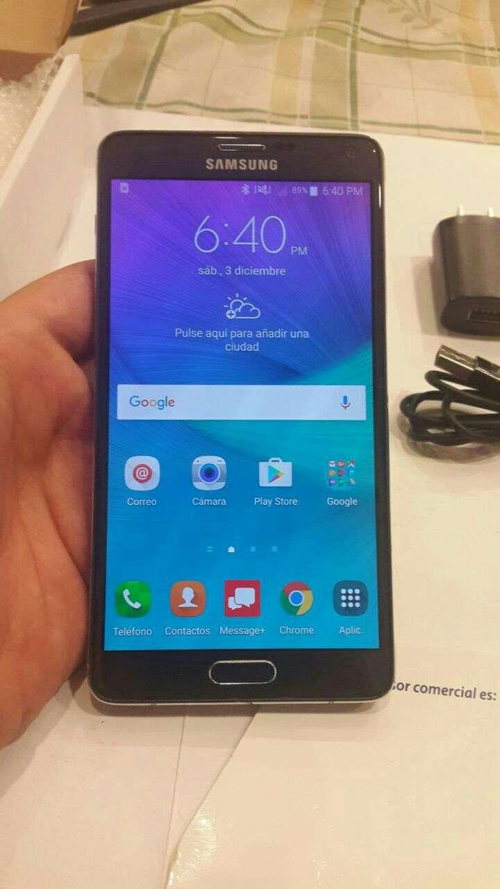 Samsung Galaxy Note 4 para todas las líneas