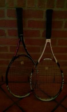 Raqueta Wilson y Dunlop para tenis