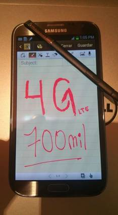 Samsung Galaxy Note 2 impecable 4G