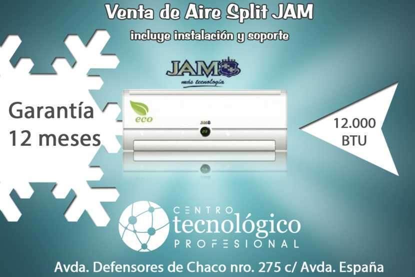 Aire acondicionado Split JAM 12.000 btu - 0