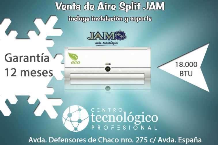 Aire acondicionado Split JAM 18.000 btu - 0