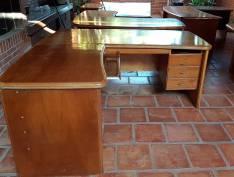 Juego de muebles madera de cedro para oficina