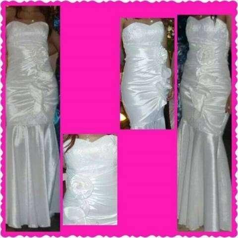 Vestido blanco elastizado