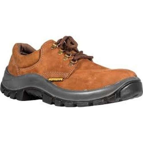 Zapato Worksafe Punta Plast Nobuck Marrón - 0