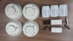 Kit alarma con robo e incendio
