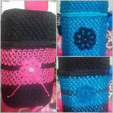 Bolsos artesanales Bandoleras Agogos en crochet