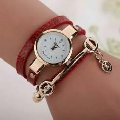 Reloj pulsera dorado