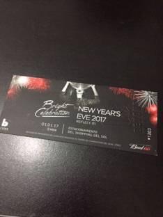Entrada para Seven año nuevo