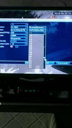 Programación de CCTV